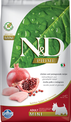 N&D Prime Dog Chicken & Pomegranate Adult Mini